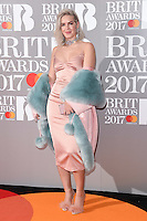 Anne Marie at the 2017 Brit Awards at the O2 Arena in London, UK. <br /> 22 February  2017<br /> Picture: Steve Vas/Featureflash/SilverHub 0208 004 5359 sales@silverhubmedia.com