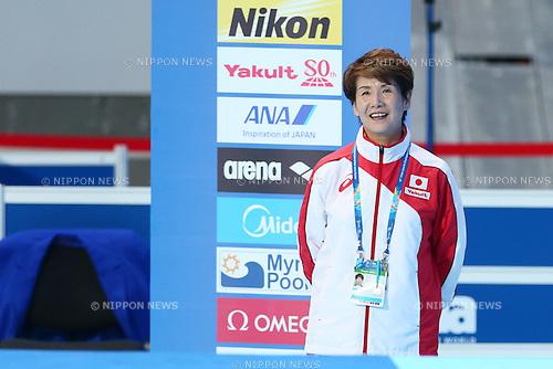 Masayo Imura (JPN), JULY 31, 2015 - Synchronised Swimming : 16th FINA World Championships Kazan 2015 Solo Free Routine Final at Kazan Arena in Kazan, Russia. (Photo by Yohei Osada/AFLO SPORT)
