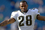 26 November 2006: Jacksonville Jaguars running back Fred Taylor (28) warms up prior to facing against the Buffalo Bills at Ralph Wilson Stadium in Orchard Park, NY. The Bills defeated the Jaguars 27-24. Mandatory Photo Credit: Ed Wolfstein Photo<br />