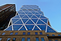 Hearst Magazine Building,By  Joseph Urban old building, tower Sir Norman Foster, New York City, NY
