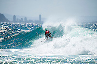Snapper Rocks, Coolangatta, Queensland Australia. (Monday March 10, 2014) Mick Fanning (AUS). –  The swell  was in the 3'-5' range all day from the SE. The Quiksilver Pro started at 11 am after the turn of the tide and Round 3 was completed. Photo: joliphotos.com