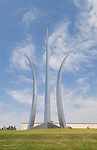 Washington DC; USA: The Air Force Memorial in Arlington, Virginia.Photo copyright Lee Foster Photo # 33-washdc83247