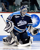 Ben Bishop (Maine - 30) - The Boston University Terriers defeated the University of Maine Black Bears 1-0 (OT) on Saturday, February 16, 2008 at Agganis Arena in Boston, Massachusetts.
