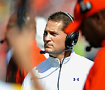 Auburn Coach Gene Chizik  vs. Mississippi at Vaught-Hemingway Stadium in Oxford, Miss. on Saturday, October 13, 2012. (AP Photo/Oxford Eagle, Bruce Newman)..