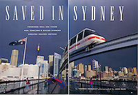 Travel Holiday Magazine, Sydney Australia Story