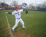 Former Rebel Chris Coghlan of the Florida Marlins, the 2009 National League Rookie of the Year, at Ole Miss baseball alumni game at Oxford-University Stadium in Oxford, Miss. on Saturday, February 5, 2011.