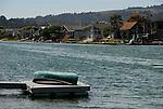 homes on Bolinas Lagoon