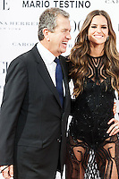 Mario Testino and Alessandra Ambrosio at Vogue December Issue Mario Testino Party