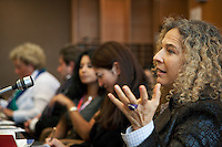 Switzerland. Geneva. World Health Organisation (WHO). Stop TB Partnership. Workshop with a group of national ambassadors against tuberculosis: Sonia Goldemberg, Peru, Journalist. 5.12.2011 © WHO /Didier Ruef