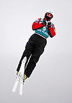 16 January 2009: Steve Omischl from Canada performs aerial acrobatics during the FIS Freestyle World Cup warm-ups at the Olympic Ski Jumping Facility in Lake Placid, NY, USA. Mandatory Photo Credit: Ed Wolfstein Photo. Contact: Ed Wolfstein, Burlington, Vermont, USA. Telephone 802-864-8334. e-mail: ed@wolfstein.net