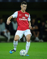 FUSSBALL   CHAMPIONS LEAGUE   SAISON 2011/2012  Borussia Dortmund - Arsenal London        13.09.2001 Laurent KOSCIELNY (Arsenal Arsenal) Einzelaktion am Ball