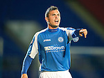 St Johnstone FC Season 2012-13.Gary Miller.Picture by Graeme Hart..Copyright Perthshire Picture Agency.Tel: 01738 623350  Mobile: 07990 594431