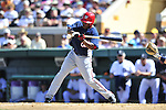 5 March 2009: Washington Nationals' utilityman Willie Harris in action during a Spring Training game against the Detroit Tigers at Joker Marchant Stadium in Lakeland, Florida. The Tigers defeated the visiting Nationals 10-2 in the Grapefruit League matchup. Mandatory Photo Credit: Ed Wolfstein Photo