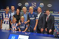 VOETBAL: HEERENVEEN: 23-08-2016, SC Heerenveen nieuwe Hoofdsponsor Groenleven, ©foto Martin de Jong