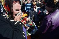 The Funeral of Alexander Lubenets in Slaviansk