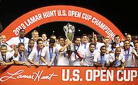 2013 US Open Cup Final, Real Salt Lake vs. D.C. United, October 1, 2013