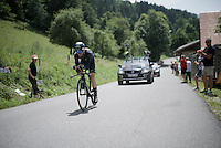 Jon Insausti Izaguirre (ESP/Movistar)<br /> <br /> Stage 18 (ITT) - Sallanches &rsaquo; Meg&egrave;ve (17km)<br /> 103rd Tour de France 2016