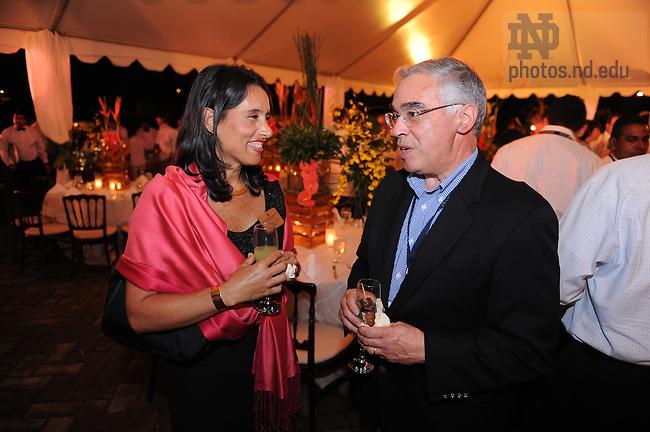 Latin American & Caribbean reunion, 2008: Dinner at the ruins...Photo by Matt Cashore/University of Notre Dame
