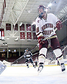 Ashley Motherwell (BC - 18) - The Boston College Eagles and the visiting University of New Hampshire Wildcats played to a scoreless tie in BC's senior game on Saturday, February 19, 2011, at Conte Forum in Chestnut Hill, Massachusetts.