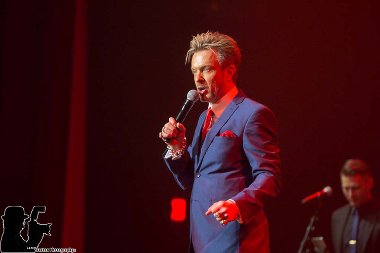 2nd Anniverary, Mondays Dark at the Joint in the Hard Rock Casino. Chris Phillips, as Zowie Bowie performs