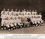 Pittsburgh PA: Team photograph of the National League Pennant winning Pittsburgh Pirates - 1927