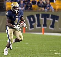 Pitt running back Zach Brown. The Pittsburgh Panthers beat the UCONN Huskies 35-20 at Heinz field in Pittsburgh, Pennsylvania on October 26, 2011.