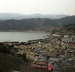 On May 11, 2011, earthquake of magnitude 9.0 and devastating tsunami hit the Tohoku area, killing more than 15,000 people and missing more than 5,000 people. Tsunami went over the high water gate of Kojirahama fishing port, Toni-cho, Kamaishi, Iwate.