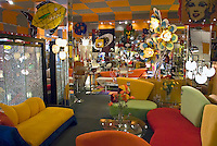 Eclectic, Bright bold colorful furniture, High dynamic range imaging (HDRI or HDR)