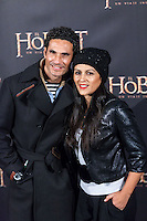 "Oscar Higares attends  ""The Hobbit: An Unexpected Journey"" premiere at the Callao cinema- Madrid."