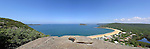 Pearl Beach from Ettalong Lookout