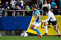 Kazuyoshi Miura (Yokohama FC), Sho Asuke (Kataller), MARCH 6, 2011 - Football : 2011 J.League Division 2 match between Yokohama FC 1-2 Kataller Toyama at NHK Spring Mitsuzawa Football Stadium in Kanagawa, Japan. (Photo by AFLO)