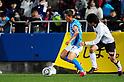 Kazuyoshi Miura (Yokohama FC), Sho Asuke (Kataller), MARCH 6, 2011 - Football : 2011 J.League Division 2 match between Yokohama FC 1-2 Kataller Toyama at NHK Spring Mitsuzawa Football Stadium in Kanagawa, Japan. (Photo by AFLO)