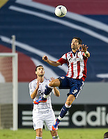 CARSON, CA - July 7, 2012: Chivas USA forward Juan Pablo Angel (9) during the Chivas USA vs Vancouver Whitecaps FC match at the Home Depot Center in Carson, California. Final score Vancouver Whitecaps FC 0, Chivas USA 0.
