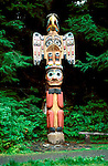 Alaska: Totem poles at Totems Bight in Ketchikan.  Photo akpanh102..Photo copyright Lee Foster, 510/549-2202,  lee@fostertravel.com, www.fostertravel.com