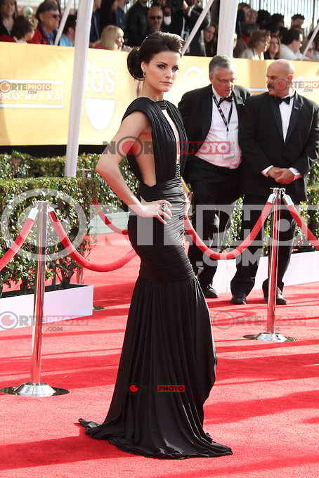 LOS ANGELES, CA - JANUARY 27: Jaimie Alexander at The 19th Annual Screen Actors Guild Awards at the Los Angeles Shrine Exposition Center in Los Angeles, California. January 27, 2013. Credit: mpi27/MediaPunch Inc. /NortePhoto /NortePhoto