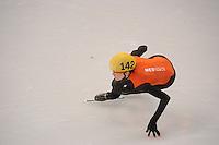 OLYMPICS: SOCHI: Iceberg Skating Palace, 10-02-2014, Shorttrack, 500m Ladies, Jorien ter Mors (#142 | NED), ©foto Martin de Jong