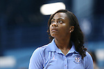 30 October 2013: UNC assistant coach Ivory Latta. The University of North Carolina Tar Heels played the Carson-Newman College Eagles in a women's college basketball exhibition game at Carmichael Arena in Chapel Hill, North Carolina. UNC won the preseason game 111-50.