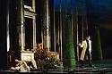 "London, UK. 04.12.2015. Matthew Bourne's ""Sleeping Beauty"" opens at Sadler's Wells. Picture shows: Cordelia Braithwaite (Aurora), Chris Trenfield (Leo), Tom Clark (Caradoc). Photograph © Jane Hobson."