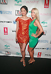 Nerissa C. Karin and Christina Bekl  Attend Swim Sunrise Fashion Show Held at New York Aqua Bar & Lounge inside Grace Hotel, NY 7/27/12