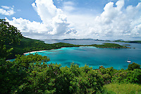 Hawksnest Bay.Virgin Islands National Park.St. John, U.S. Virgin Islands