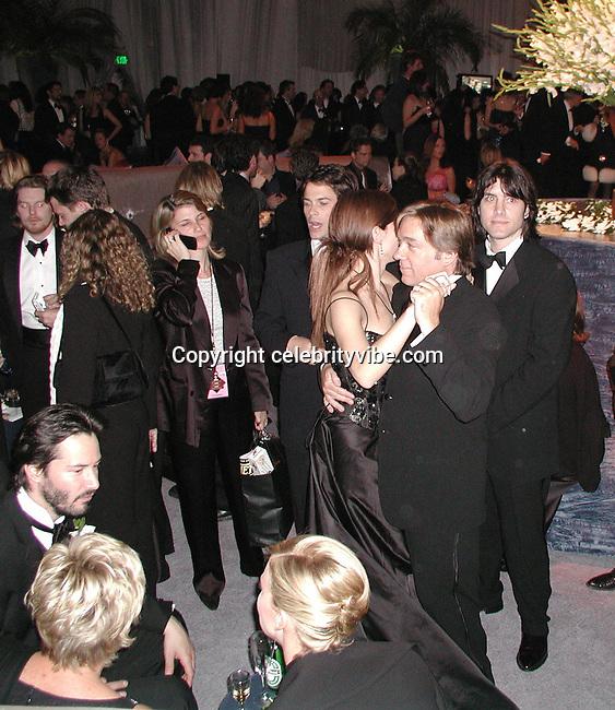 Style Magazine Post Golden Globe Party-2001, Beverly Hilton Hotel, California