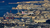 AirMalta KM40 Retro livery at Luqa International Airport on 16-04-2014