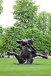 """""""Standing Figure"""" (1983) by Willem de Kooning, Tuileries Garden, Paris, France"""