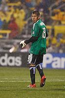 24 APRIL 2010:  Real Salt Lakes' Nick Rimando (18) during the Real Salt Lake at Columbus Crew MLS soccer game in Columbus, Ohio. Columbus Crew defeated RSL 1-0 on April 24, 2010.