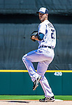 14 March 2014: Detroit Tigers pitcher Rick Porcello on the mound during a Spring Training Game against the Washington Nationals at Joker Marchant Stadium in Lakeland, Florida. The Tigers defeated the Nationals 12-6 in Grapefruit League play. Mandatory Credit: Ed Wolfstein Photo *** RAW (NEF) Image File Available ***