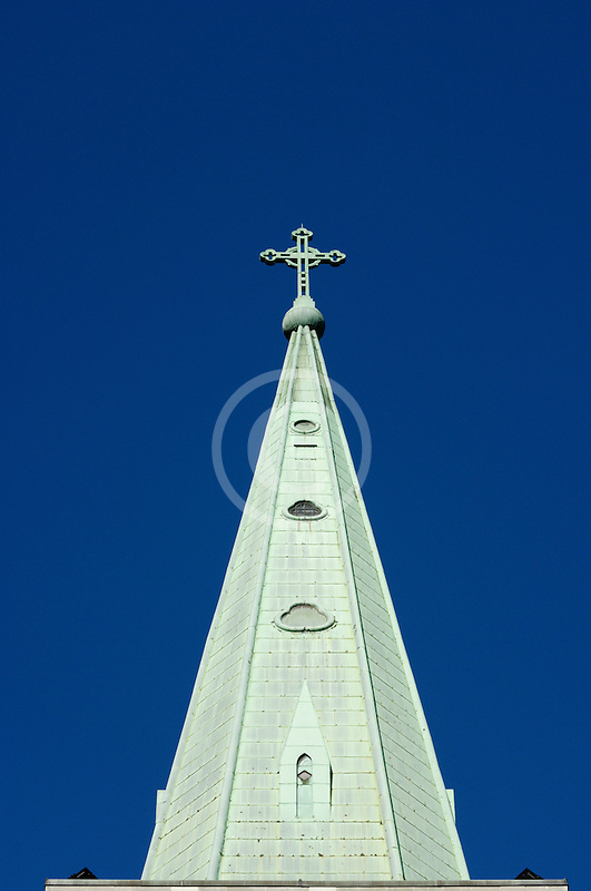 Canada, Montreal, Church steeple