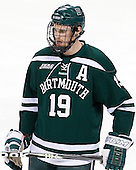 Eric Robinson (Dartmouth - 19) - The Boston College Eagles defeated the visiting Dartmouth College Big Green 6-3 (EN) on Saturday, November 24, 2012, at Kelley Rink in Conte Forum in Chestnut Hill, Massachusetts.