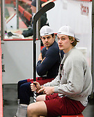 Alex Killorn (Harvard - 19), Alex Fallstrom (Harvard - 16) - The Harvard University Crimson defeated the visiting Colgate University Raiders 6-2 (2 EN) on Friday, January 28, 2011, at Bright Hockey Center in Cambridge, Massachusetts.
