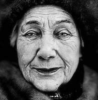 "Polina Svyatogorskaya (born 1925), a Russian veteran of World War II (WW2).  She trained as a nurse..""When war broke out, I wanted to help to defeat the fascists.  But no military unit was willing to take me because I was only 16.  The railway troops were in Kazan and I said: 'Take me with you. You need me because I'm a nurse.' But they also felt that I was too young. So I kept on nagging until they finally took me."".""The Germans had put mines across the rails so that there were a lot of accidents.  I was the operating assistant.  A leg was amputated during my first operation.  The doctor handed me the leg.  I wanted to give it back and said: 'Put that leg back on again.' They told me that I had to bury it.  .I went outside with it and cried my eyes out.  The soldiers, who saw me there, took the leg and buried it.  I had no idea that that was what war was like."".."