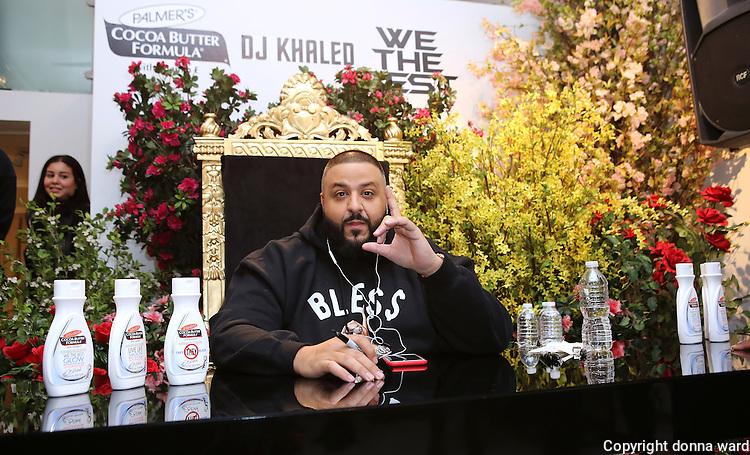 DJ Khaled Hosts Palmer's Capsule Collection Event